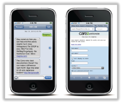 Raising Awareness With SMS Text Messaging the Cove
