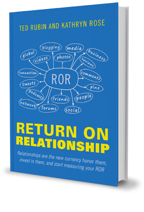 Ted Rubin, Return on Relationship, ROR